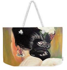 Untitled Dancer With White Flower Weekender Tote Bag