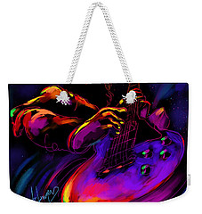 Untitled Guitar Art Weekender Tote Bag
