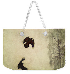 Untitled Weekender Tote Bag by Priska Wettstein