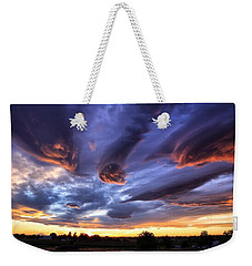 Alien Cloud Formations Weekender Tote Bag