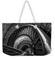 Weekender Tote Bag featuring the photograph Unwind  - Currituck Lighthouse by David Sutton