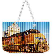 Up 5915 At Track Speed Weekender Tote Bag