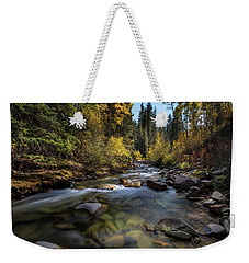 Up A Colorado Creek Weekender Tote Bag
