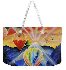 Up And Away Weekender Tote Bag by Dianna Lewis