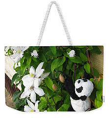 Weekender Tote Bag featuring the photograph Up And Up And Up by Ausra Huntington nee Paulauskaite
