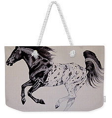 Up Close And Personal With Appaloosa's Weekender Tote Bag