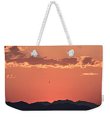 Up Early Weekender Tote Bag