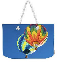 Up In A Hot Air Balloon Weekender Tote Bag