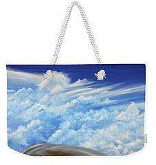 Up In The Air Weekender Tote Bag