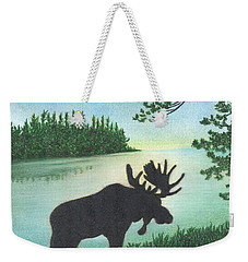 Up Maine Weekender Tote Bag by Troy Levesque