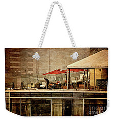 Weekender Tote Bag featuring the photograph Up On The Roof - Miraflores Peru by Mary Machare