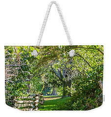 Up The Secret Path Weekender Tote Bag