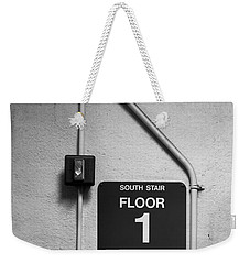 Up To One Weekender Tote Bag by Bob Orsillo