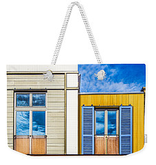 Weekender Tote Bag featuring the photograph Up Town by Paul Wear