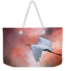 Up. Up And Away Weekender Tote Bag by Cyndy Doty