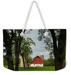 Weekender Tote Bag featuring the photograph Up Yonder by Viviana  Nadowski