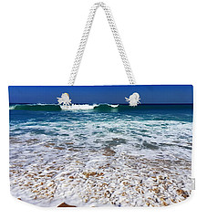Weekender Tote Bag featuring the photograph Upon Entry by Cindy Greenstein