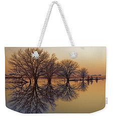 Upon Reflection Weekender Tote Bag