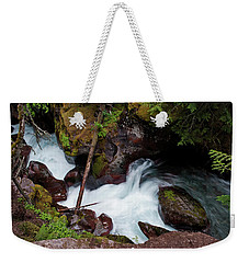 Upper Avalanche Creek Weekender Tote Bag