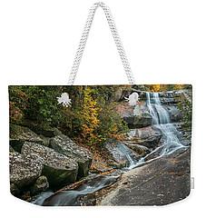 Upper Creek Falls Weekender Tote Bag