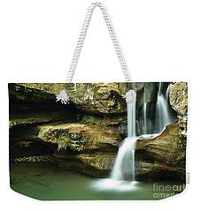 Upper Falls Closeup Weekender Tote Bag