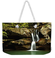 Upper Falls, Hocking Hills State Park Weekender Tote Bag