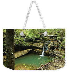 Upper Falls, Hocking Hills State Park 2 Weekender Tote Bag