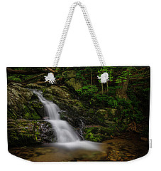 Weekender Tote Bag featuring the photograph Upper Falls On Doyle River by Ronald Santini