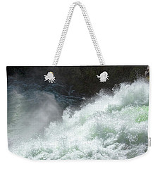 Upper Falls, Yellowstone River Weekender Tote Bag