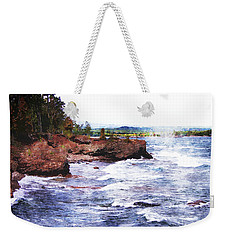 Upper Peninsula Landscape Weekender Tote Bag