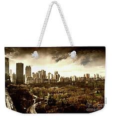 Upper West Side In Spring Weekender Tote Bag