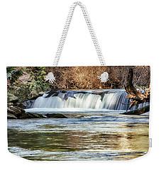 Upper Whatcom Falls Weekender Tote Bag