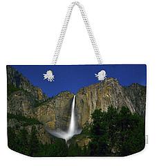 Upper Yosemite Falls Under The Stairs Weekender Tote Bag