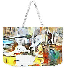 Uprising Weekender Tote Bag by Wayne Pascall