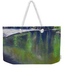 Upriver View Weekender Tote Bag