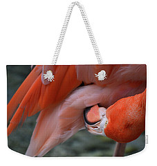 Weekender Tote Bag featuring the photograph Upside Down by Melissa Lane