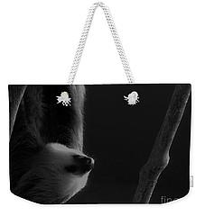 Upside Down Sloth Weekender Tote Bag