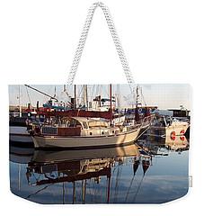 Upside Downside Weekender Tote Bag
