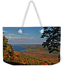 Upstate Autumn Weekender Tote Bag by Richard Engelbrecht
