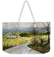 Upstate Landscape Weekender Tote Bag by Judith Levins