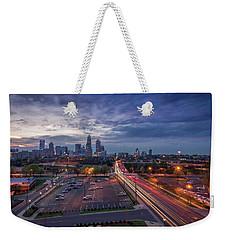 Uptown Charlotte Rush Hour Weekender Tote Bag