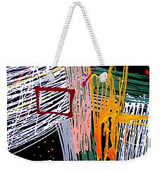 Uptown Downtown Weekender Tote Bag