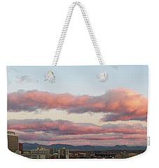 Uptown Sunset Weekender Tote Bag
