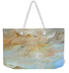 Upwardly Mobile Weekender Tote Bag by Dina Dargo