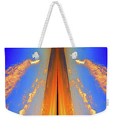 Upwards Two  Weekender Tote Bag