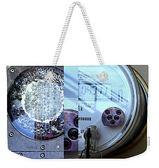 Urban Abstracts Seeing Double 58 Weekender Tote Bag