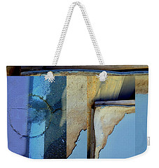 Urban Abstracts Seeing Double 62 Weekender Tote Bag