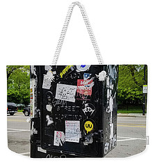 Urban Art Chicago Weekender Tote Bag
