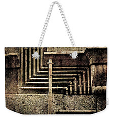 Urban Geometries Weekender Tote Bag