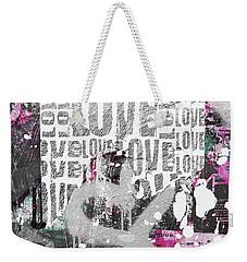 Urban Love Weekender Tote Bag